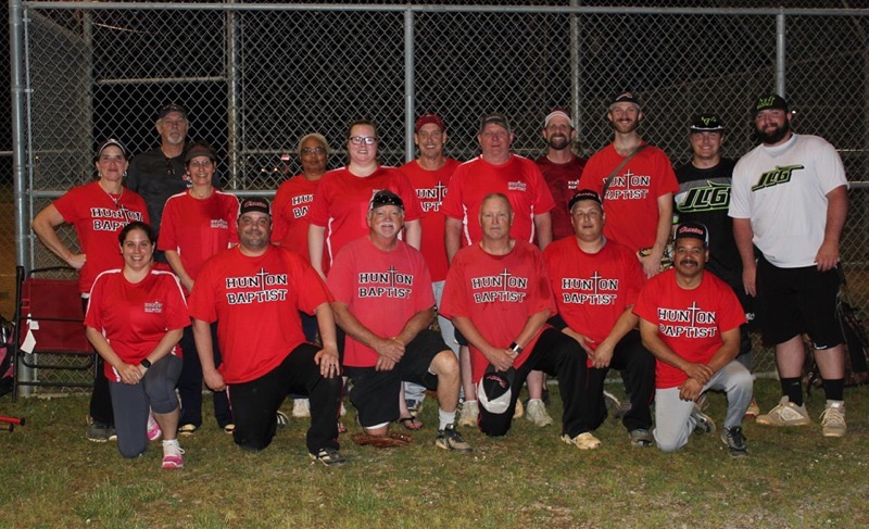 HBC Softball team members are the 2019 Metro Church Champions!